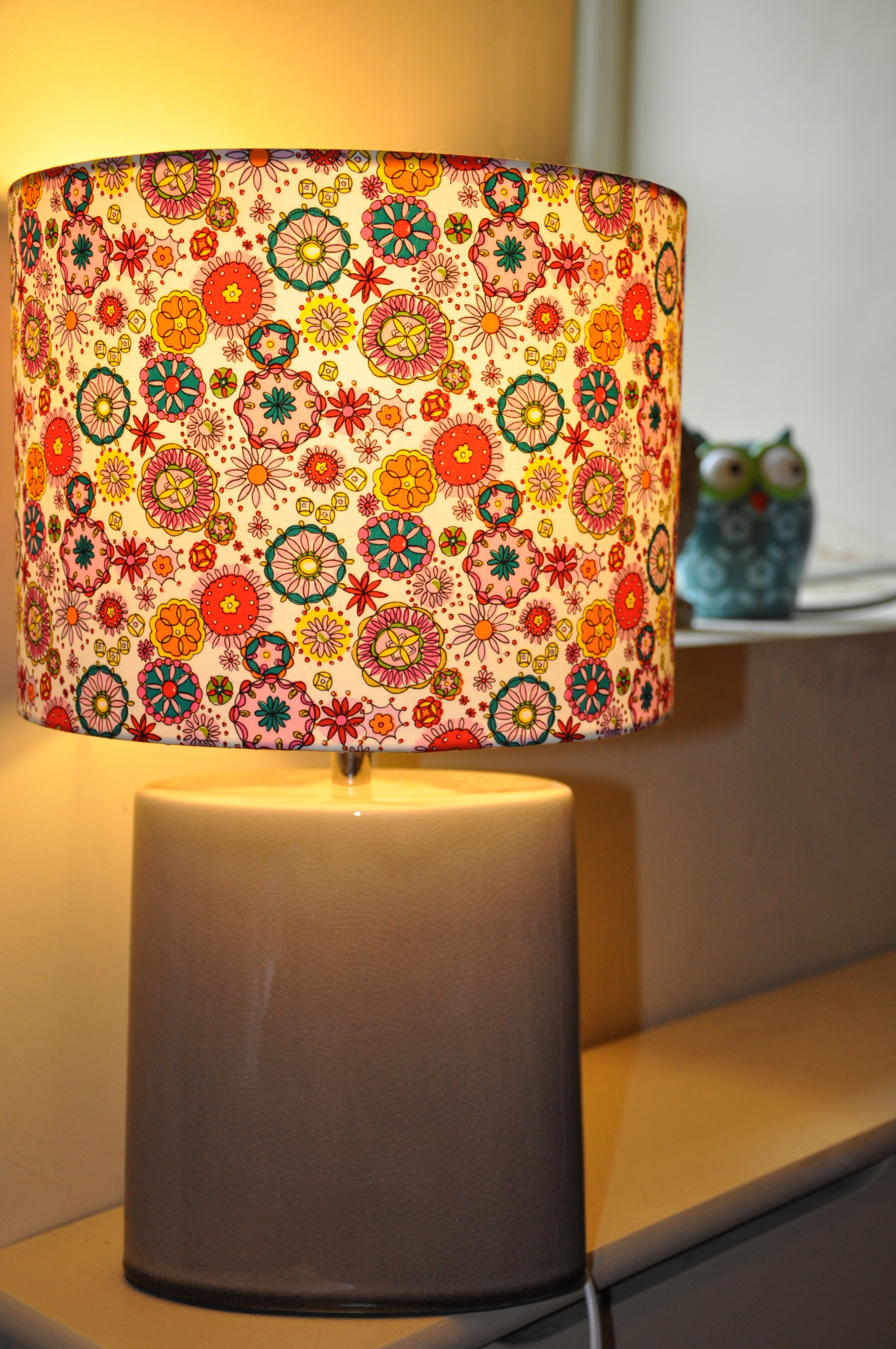 Bright Owl Night Owl | Beautiful lampshades handmade to suit your ...
